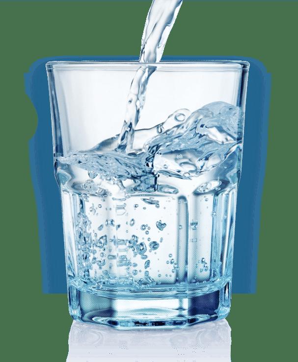 Vaso de agua lleno